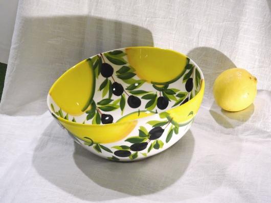 Schüssel Limone Olive Ø 23 cm