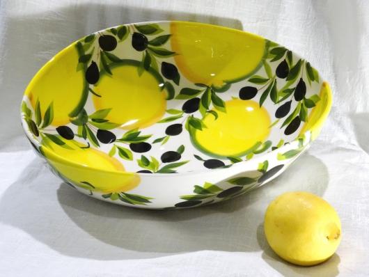 Schüssel Limone Olive Ø 34 cm