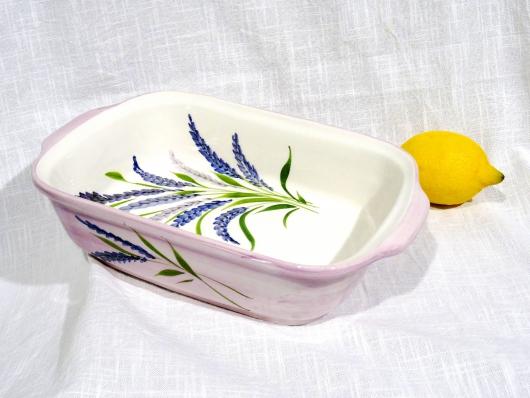 Auflauf-Form Lavendel rechteckig
