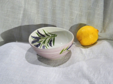 Schüssel Lavendel Ø 14 cm, Höhe ca. 5,5 cm