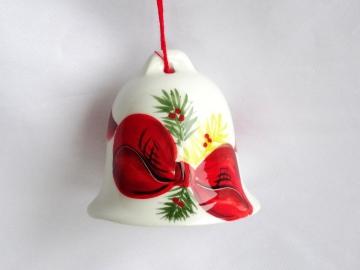 Weihnachtsglöckchen - eine Schleife