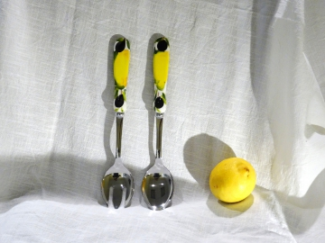 Salatbesteck Limone Olive