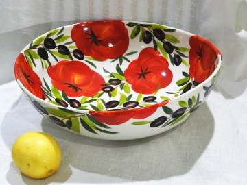 Schüssel Tomate Olive 34 cm