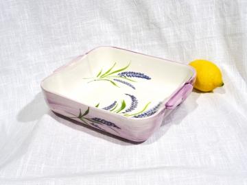 Auflauf-Form Lavendel quadratisch