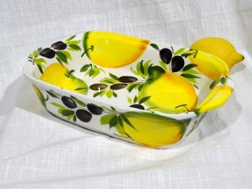 Auflauf-Form Limone Olive rechteckig