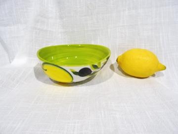 Schüssel Limone verde hell, Durchmesser 14 cm, Höhe ca. 5,5 cm