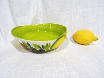Schüssel Limone verde hell, Durchmesser ca. 19 cm, Höhe ca. 6,5 cm