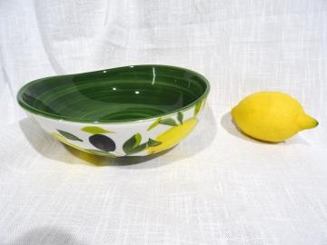 Schüssel Limone verde dunkel Ø 19 cm
