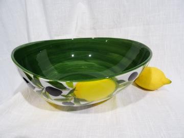 Schüssel Limone verde dunkel Ø 29 cm