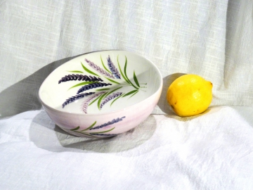 Schüssel Lavendel, Ø ca. 19 cm, Höhe ca. 6,5 cm