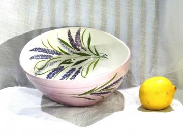 Schüssel Lavendel, Ø ca. 23 cm, Höhe ca. 9,5 cm
