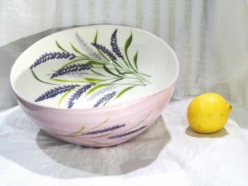 Schüssel Lavendel, Ø ca. 29 cm, Höhe ca. 10,5 cm