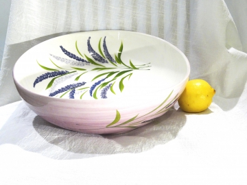 Schüssel Lavendel, Ø ca. 34 cm, Höhe ca. 10,5 cm