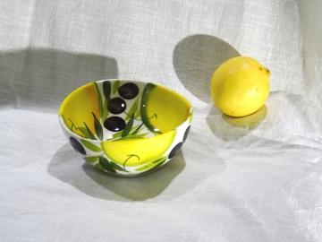 Schüssel Limone Olive Ø 14 cm